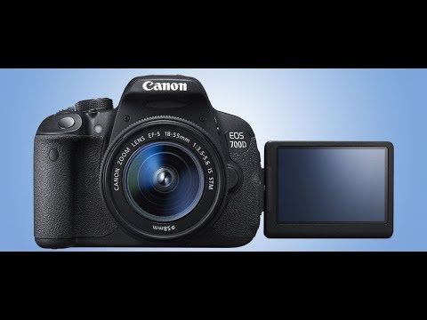 Canon EOS 700D DSLR Camera in bangla