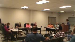 Blair Township Board Meeting 09122017