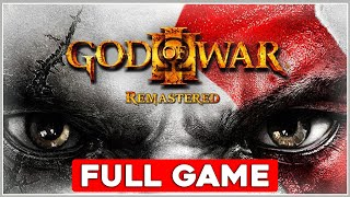 God Of War 3 Remastered Walkthrough - Complete Game Movie 60fps PS4
