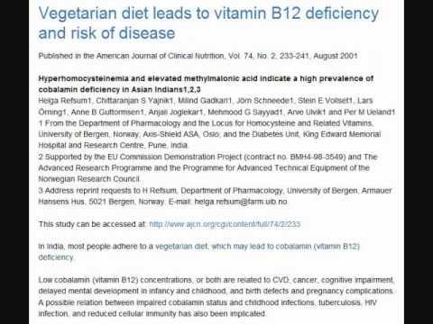 Vegetarian studies