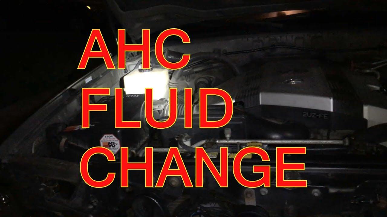 lexus lx 570 ahc fluid