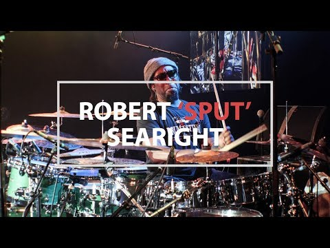 Robert 'Sput' Searight Drum Solo With Music  Alastair Taylor