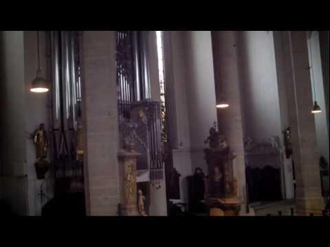 Renè Louis Becker  dalla  II sonata:  FINALE  - Giulia Biagetti - Eichstätt Cathedral