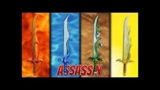 MY FIRST ROBLOX VEDIO!!! ASSASIN