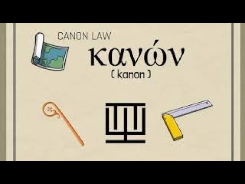 1. Canon Law in English - Introduction to Canon Law - Part 1