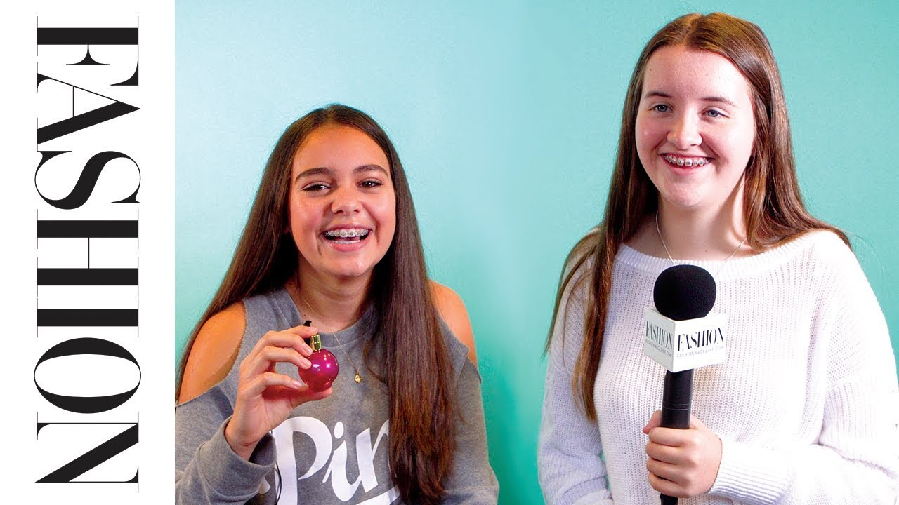 Teen Girls Review Celebrity Fragrances  Youtube