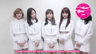 [SoshiAPinkSubs][151110] A Pink SAT Support Message