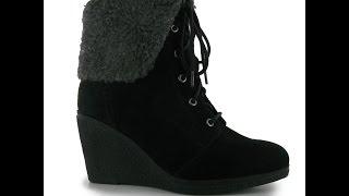 Полусапожки Kangol Marina Wedge Ladies Boots