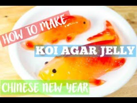 Chinese New Year –  Koi Agar Jelly