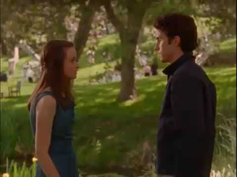 gilmore girls season 2 episode 22 rory and jess first kiss youtube. Black Bedroom Furniture Sets. Home Design Ideas