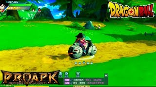 Dragon Ball Strongest Warriors Gameplay Android / iOS (Open World MMORPG) (CN)