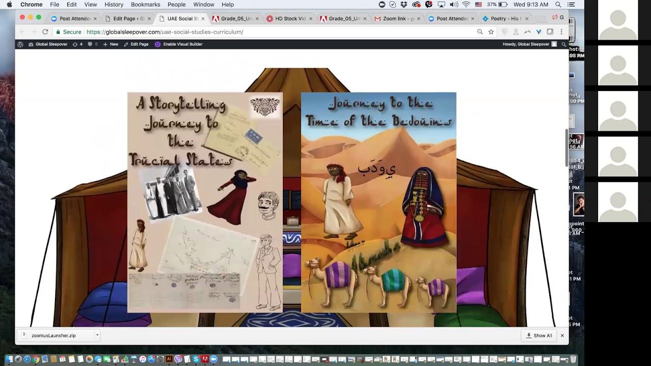UAE Social Studies Curriculum - Global Sleepover [ 720 x 1280 Pixel ]