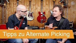 Gambar cover Alternate Picking mit Wolfgang Zenk - SUPERGAIN TV 16