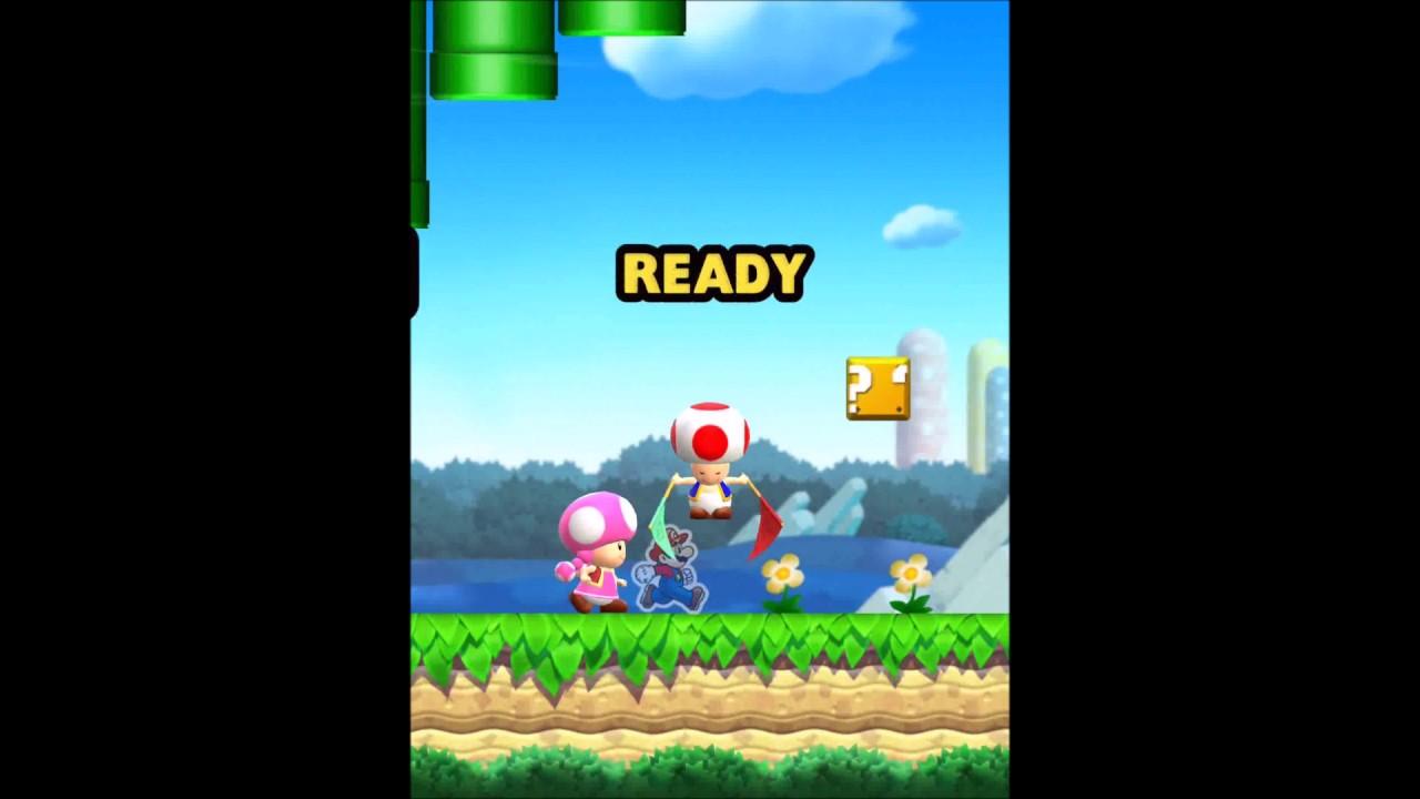 Super Mario RUN : introducing Toadette - iOS - YouTube