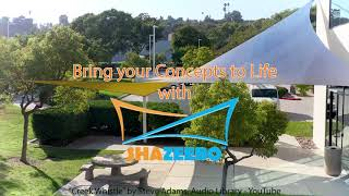 Business Park DualShade Sails: From Concept to Reality