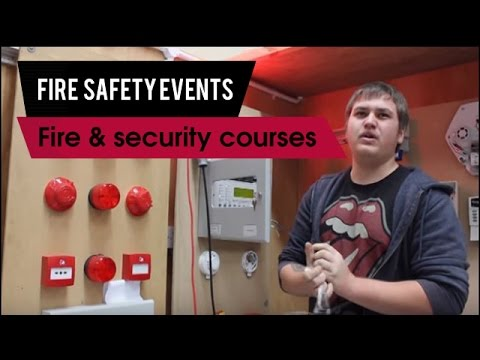 DCET Training Apprenticeships: Fire And Security Courses