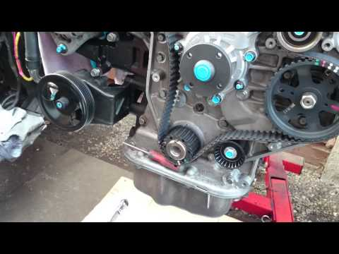 Timing Belt Replacement Water Pump 2005 Kia Sedona 3 5l V6