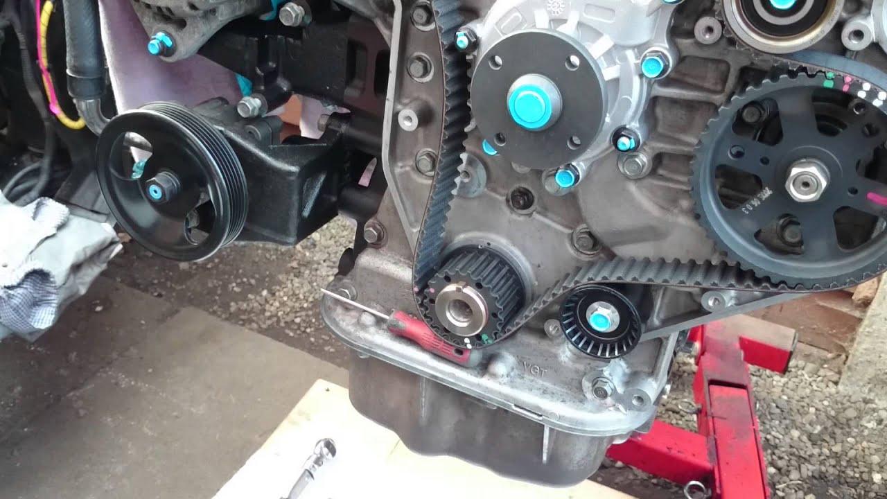 Kia Carnival Timing Belt Diagram Bep Switch Panel Wiring Sedona Hyundai 2 9crdi Part7 Youtube