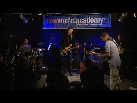 Paul Gilbert Jam with PGP Student Toba  at NMA Masterclass Wiesbaden