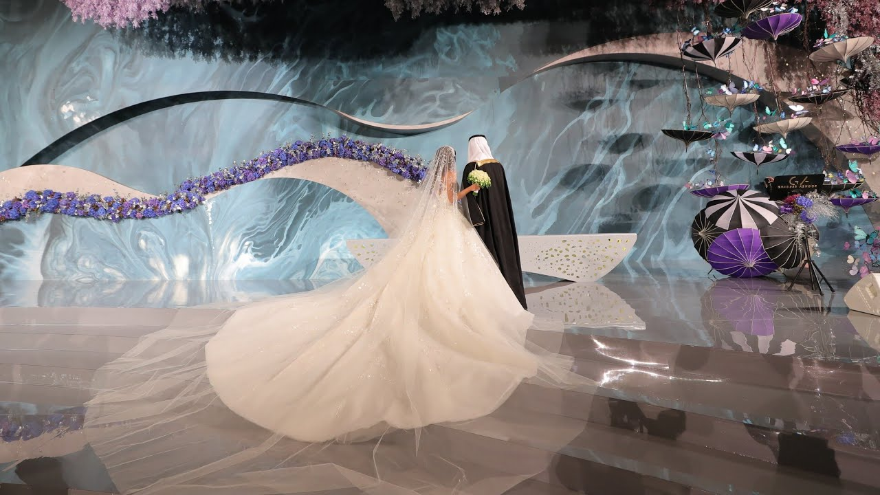 Alice In Wonderland Inspired Wedding In Riyadh, Saudi Arabia