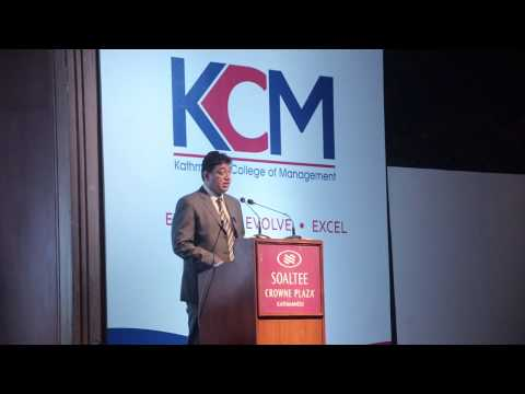 KCM Corporate Orientation 2014 - Mr. Suman Shakya, CEO, Tangent Waves