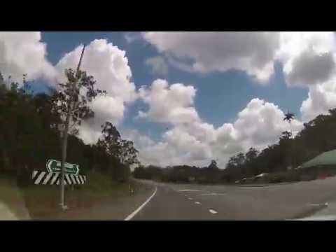 Fast Drive from Mackay to Airlie Beach (4 x speed), Queensland, Australia - 12th September, 2016