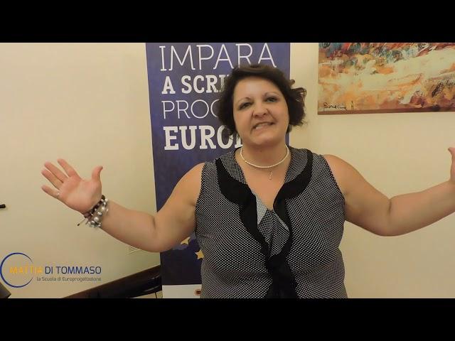 Impara a scrivere progetti europei con Mattia Di Tommaso