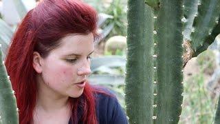 Elisa Biondi, horticulturist in Kew Gardens