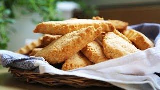 Сырное печенье - рецепт