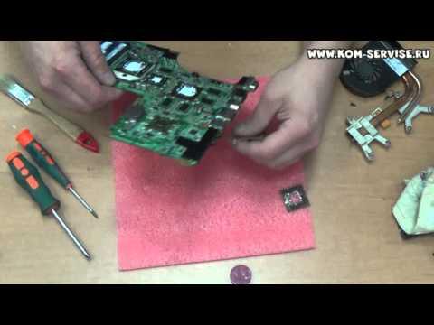 Инструкция по разборке, сборке и чистки от пыли ноутбука  Hewlett-Packard Pavilion dv6 3057er.