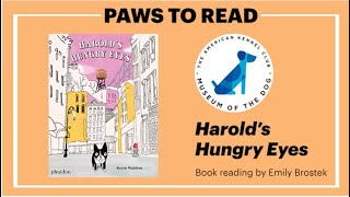 MOD Paws to Read: 'Harold's Hungry Eyes'