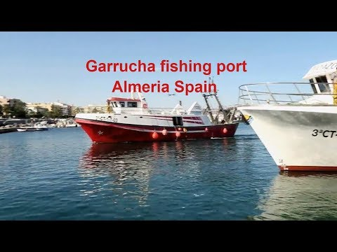 Kev in thailand in Spain, Garrucha Almeria, Fishing Port & Marina ! Vlog 293