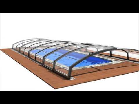 Casablanca Infinity  3D Swimming pool 3D animation