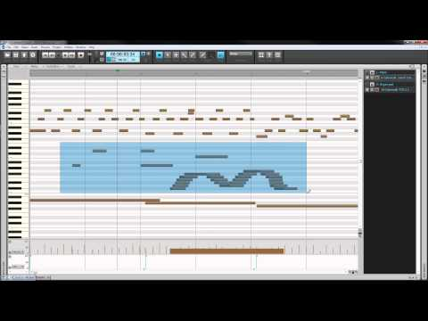 Music Creator 6 Touch: Piano Roll View & MIDI Editing