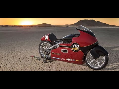 Indian Motorcycle Returns to Land Speed Racing, Sets Record!