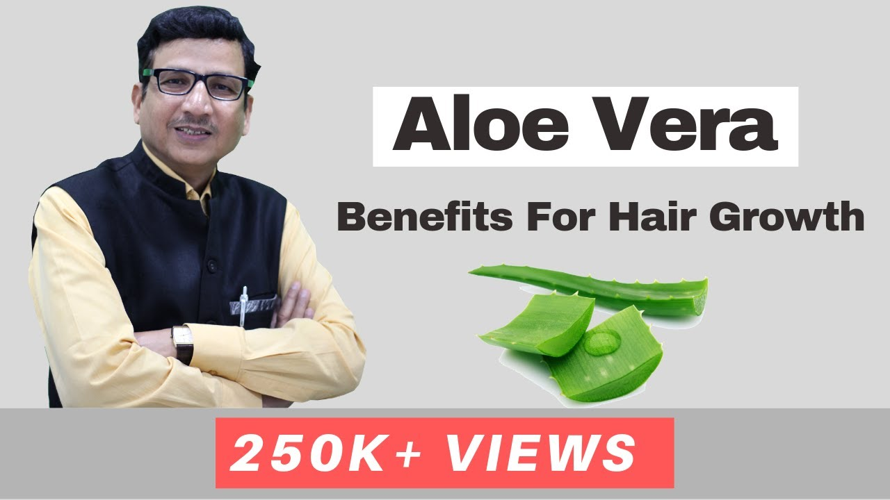 Aloe Vera Benefits For Hair Growth | How To Use at Home ...