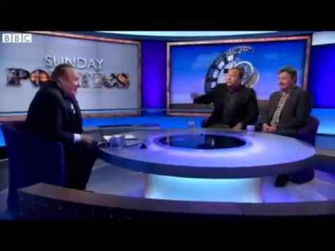 Alex Jones blows a head gasket on the BBC
