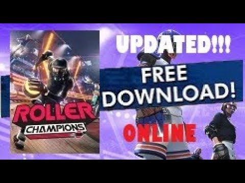 Download Roller Champions PC + Full Game Crack For Free [MULTIPLAYER]