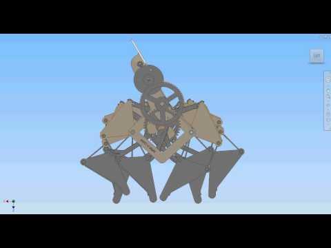 Windwalker Assembly Animation (side)