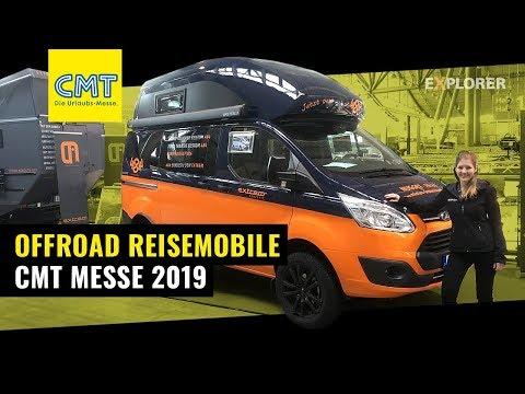 Erste Offroad Camper Neuheiten 2019 – CMT Stuttgart Messerundgang