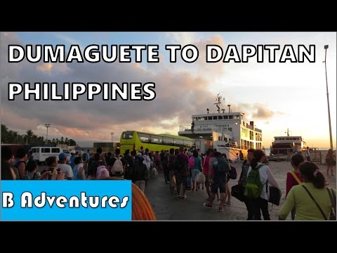 Dumaguete Smokey Mountain, Ferry to Dapitan City Mindanao, P