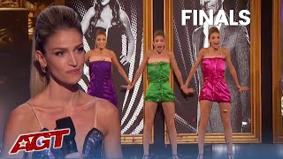 Simon Says Leah Kyle is THE BEST IN THE WORLD After Her AGT Finale Performance