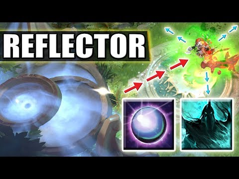 Infinite Damage Reflection with Dispersion + Borrowed Time Fountain Dive Dota 2 Ability Draft