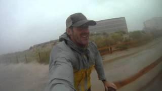 Hurricane Irene hammering Ocean City Md