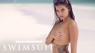 Barbara Palvin Feels Herself In The Bahamas Sand | Sports Illustrated Swimsuit