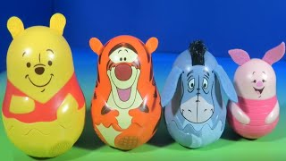 Stacking Cups Winnie the Pooh & Friends Surprise Eggs Hide Inside Tigger Eeyore & Piglet