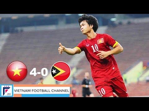 U23 VIETNAM - U23 TIMOR LESTE   ALL GOALS & HIGHLIGHTS - 7/6/2015