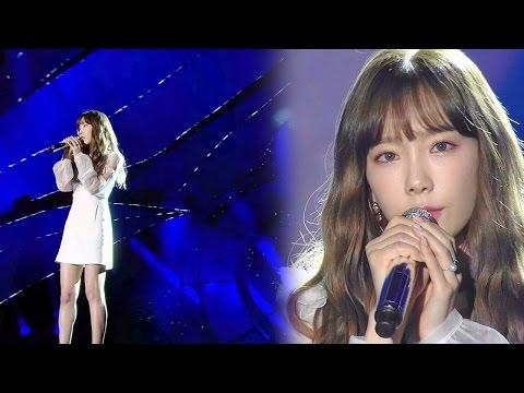 SNSD Taeyeon Performing Emotional Ballad '11:11' @2016 SAF Gayo Daejun EP02