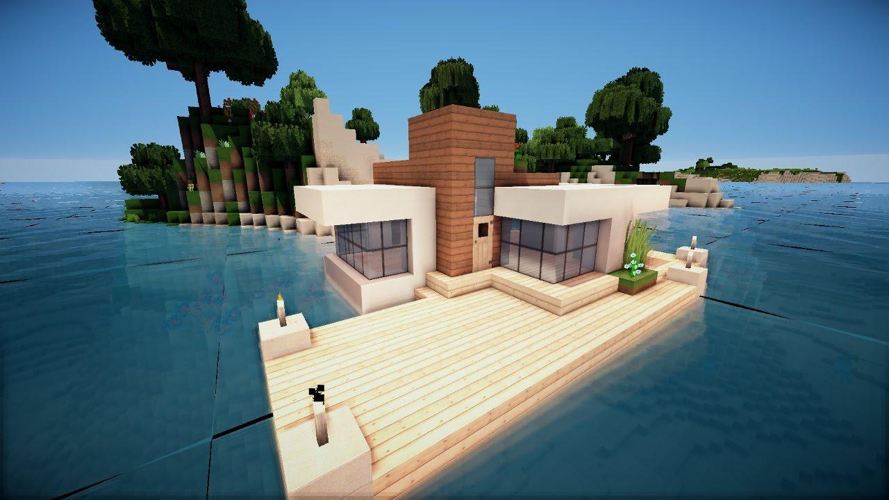 Minecraft Spielen Deutsch Minecraft Haus Bauen Tutorial Deutsch Bild - Minecraft wasser hauser