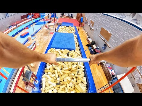 PARKOUR Gym Training | 360 Kong Gainer